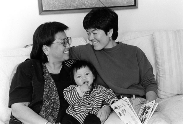 Photos of Lesbian Mothers and Their Children